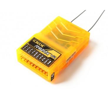 OrangeRx R920X V2 9Ch 2.4GHz DSM2/DSMX Comp Full Range Rx w/Sat, Div Ant, F/Safe & SBUS