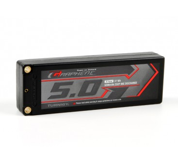 Turnigy Graphene 5000mAh 2S2P 90C Hardcase Lipo Pack (ROAR APPROVED)