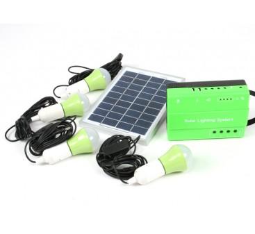 HT-732 Solar Lighting System w/FM Radio