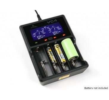XTAR VC4 Charger for Ni-MH/Li-ion Batteries (4 Port)