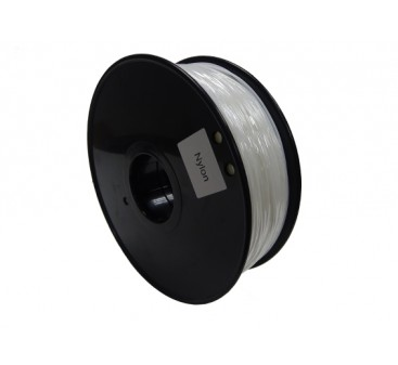 HobbyKing 3D Printer Filament 1.75mm PA Nylon 1.0KG Spool (White)