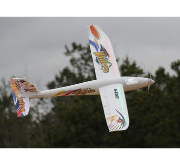 HobbyKing® Night Walrus Glider w/Flaps EPO 1400mm (PNF)