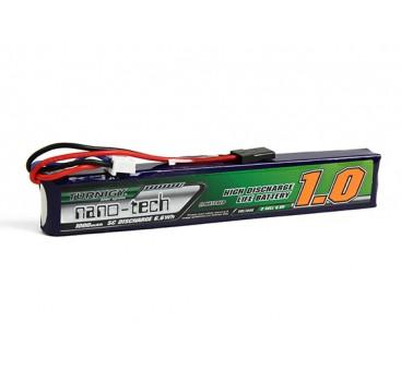 Turnigy nano-tech 1000mAh 2SSIP 5C LiFePo4 Receiver Pack W/ JR plug