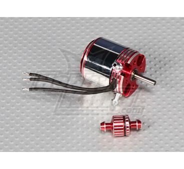 ADS400L Water-cooled Brushless Outrunner 3700kv 600w