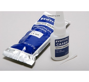Evotite CA460 Foam Safe Super Glue (Medium)