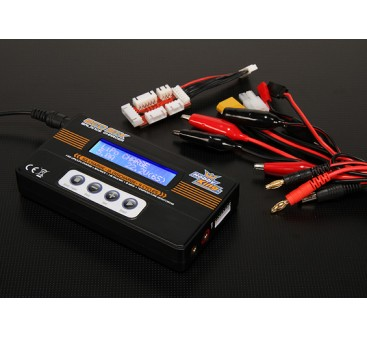 HobbyKing ECO6 50W 5A Balancer/Charger w/ accessories