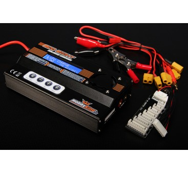 HobbyKing™ ECO8 150W 7A 8S Bal/Dis/Cyc Charger w/ accessories