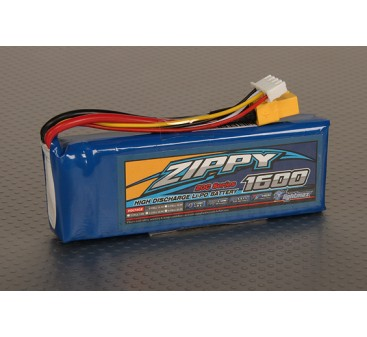 ZIPPY Flightmax 1600mAh 3S1P 20C