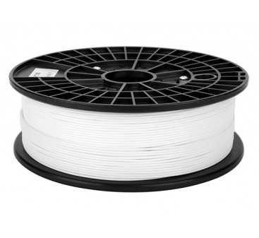 Print-Rite 3D Printer Flexible Filament 1.75mm PLA 500G Spool (White)