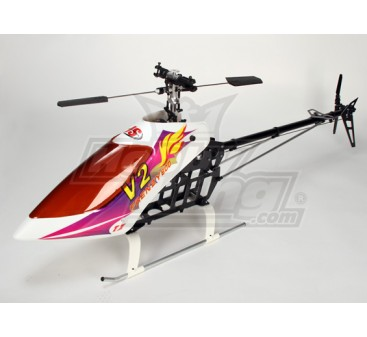 Frenzy 600BD V2 EP 3D Helicopter Kit (Belt Drive)