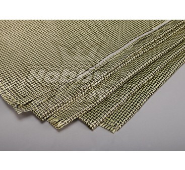 3K Carbon Fiber and Kevlar-29 Cloth (180g/m2)  2 sheets - 1000mm x 500mm