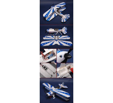 HobbyKing® ™ Pitts Special Plug-n-Fly (4 Aileron version)