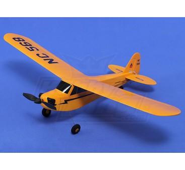 HobbyKing® ™ Micro J3 Trainer Cub 450mm w/TX/Lipo/Prop (RTF)