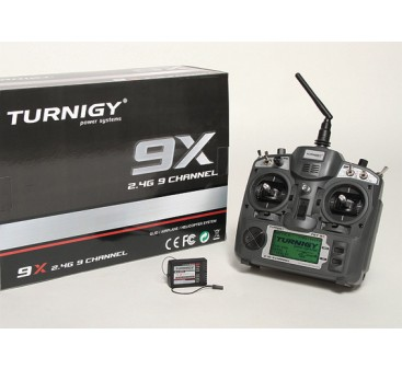 Turnigy 9X 9Ch Transmitter w/ Module & 8ch Receiver (Mode 1) (v2 Firmware)