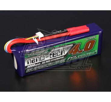 Turnigy nano-tech 4000mah 4S 45~90C Lipo Pack