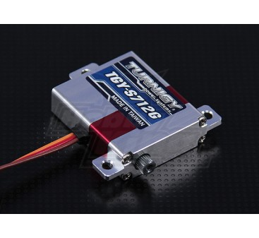 Turnigy™ TGY-S712G Alloy Case Slim Wing DS/MG Servo 7kg / 0.12sec / 28g