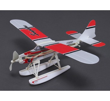 Beaver Seaplane Rubber Band Powered Freeflight Model 468mm Span