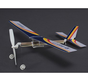 Skylark L-9 Rubber Powered Freeflight Model 2 in 1 Monoplane or Bi-plane