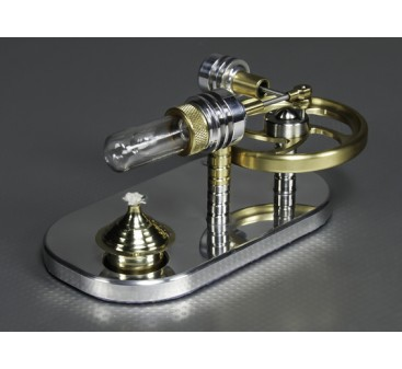 Stirling Displacer Engine - Working Display Model