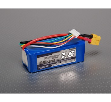 Turnigy 1600mAh 4S 30C Lipo Pack