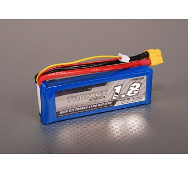 Turnigy 1800mAh 2S 40C Lipo Pack
