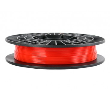 CoLiDo 3D Printer Filament 1.75mm PLA 500G Spool (Translucent Red)