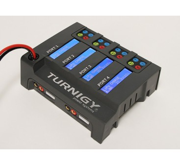 Turnigy TQ4 4x6S Lithium Polymer Battery Pack Charger