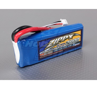 ZIPPY Flightmax 2000mAh 2S1P 45C