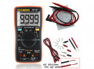 Handheld Digital Multimeter Set AN8009 (Orange)