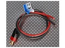 PowerBox Deans - PIK Male 2.5mm wire 30cm