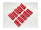 HXT 4mm Gold Connector w/Pre-installed Bullets (10pcs/set)