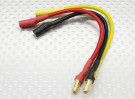 3.5mm Male/Female Bullet Brushless Motor Extension Lead 100mm