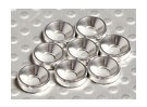 Countersunk Washer Aluminum Anodised M3 (Silver) (8pcs)