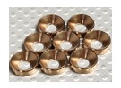 Countersunk Washer Anodised Aluminum M5 (Bronze) (8pcs)