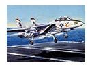 Italeri 1/72 Scale F-14A Tomcat Plastic Model Kit
