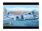 Italeri 1/72 Scale C-130J Hercules Plastic Model Kit