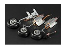 Turnigy 90 Degree All Metal Tricycle Retract System w/3mm Wire Legs (3kg AUW Max)