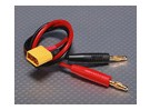 Charge Cable w/ Male XT60 <-> 4mm Banana plug