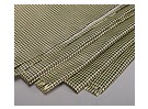 3K Carbon Fiber and Kevlar-29 Cloth (180g/m2)  2 sheets - 1000mm x 500mm