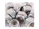 Hex locknuts M4 10pc