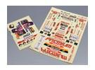 Self Adhesive Decal Sheet - Premium Drift 1/10 Scale (2pc)