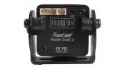 RunCam Swift 2 600TVL FPV Camera PAL (Black) (Top Plug) - rear view