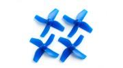 35mm 4-Blade Propeller (2CCW, 2CW) (Blue)