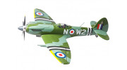 """Durafly™ Supermarine Spitfire Mk24 V2 with Retracts/Flaps/Nav Lights ESC 1100mm (43"""") (PNF) - flying"""
