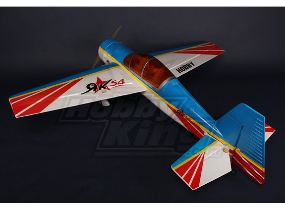 YAK 54 1.4m EPO Kit w/ Brushless Motor/ Servos