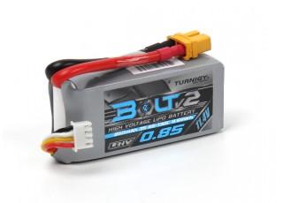 Turnigy Bolt V2 850mAh 3S 65~130C High Voltage Lipo Pack