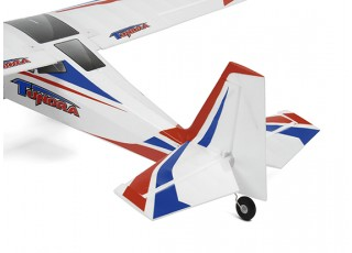 Durafly Color Tundra 1300mm Anniversary Edition (Blue/Red) (PnF) - Tail