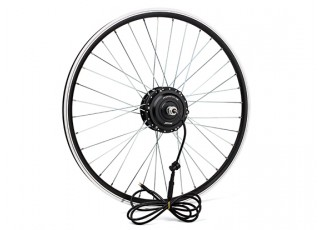 "E-Bike Conversion Kit for 26"" Bikes (PAS Front Wheel Drive) (36V/8.8A)  (EU Plug) - wheel"