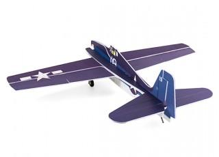 H-King F6F Hellcat - Glue-N-Go - 5mm Foamboard PP 975mm (Kit) - rear view