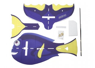 H-King Glue-N-Go Blue Tang EPP 850mm (Kit) - kit